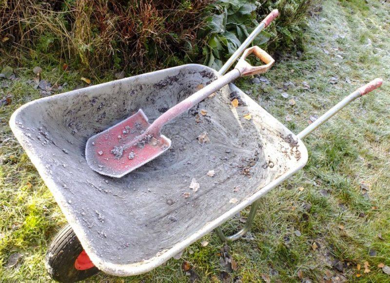 Det blir kaldere og naturlig nok mindre å gjøre i hagen.